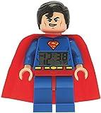 DC Comics LEGO Super Heroes Superman Minifigure Clock