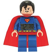 LEGO DC Super Heroes - Reloj despertador con figura Superman (LEGO 9005701)