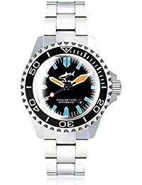 Chris Benz Deep 2000m Automatic Super Bubble CB-2000A-G3-MB Automatic Mens Watch Diving Watch