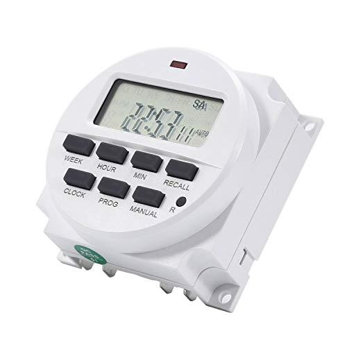 Power Programmierbare Timer Zeit TM618 Digital LCD Power AC DC Schalter Relais 220 V / 12 V / 110 V / 24 V -