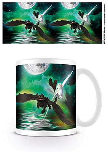 1art1 Set: Dragon Trainer, 3 Together Tazza da caffè Mug (9x8 cm) E 1...