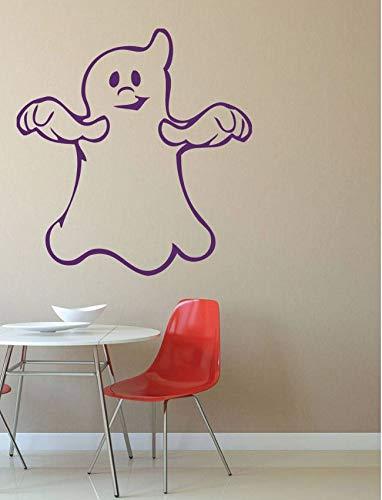 Yirenfeng Halloween Wandtattoo Nette Spuk Ghost Wandaufkleber Tür Fenster Halloween Tag Dekoration Vinyl Party Wandbild