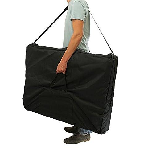 Table De Massage Pro Luxe Pliante Confort 3 Zones - Linxor France ® Housse de transport noire