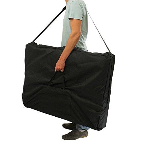 Vivezen Housse de transport noire pour table de massage - Norme CE