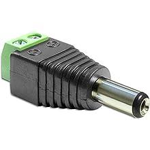 DeLOCK 65487 adaptateur et connecteur de câbles DC 2.5 x 5.5 mm 2p Noir, Vert - Adaptateurs et connecteurs de câbles (DC 2.5 x 5.5 mm, 2p, Mâle, Noir, Vert)