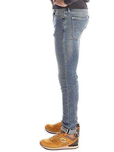 Gas Herren Jeans Sax Zip Blue