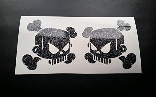 skulls-x2-solid-ken-block-hoonigan-glitter-metal-flake-vinyl-car-sticker-decal-graphic-gold-glitter-
