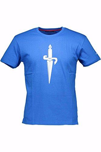 cesare-paciotti-t-shirt-maniche-corte-uomo-blu