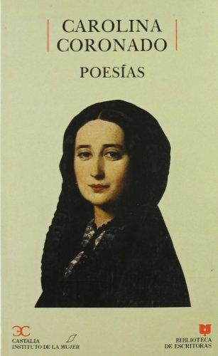 Poesías, Carolina Coronado (BIBLIOTECA DE ESCRITORAS. B/E.)