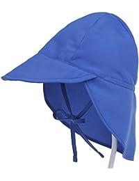De feuilles CHIC-CHIC Chapeau Soleil Bébé Bambin Caps Solide Ajustable  Taille de la Tête Soleil ... 041c5448d14