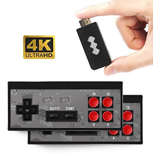 rebirthesame Retro-Spielekonsole, HDMI HD Integriertes klassisches Videospiel 568 mit USB-Handheld-Retro-Game-Controller - M Game Boy Mit