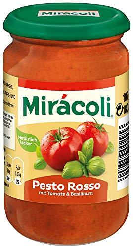 Miracoli Pesto Rosso mit Tomate & Basilikum 187g