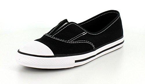 Converse Chuck Taylor All Star Cove Slip On moda della scarpa da tennis Black