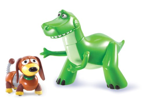 Disney Pixar Toy Story 3 Action Figure Buddy Pack - Rex & Slinky Dog