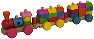 Andreu Toys 16213.0 - Tren 3P de madera, 22 piezas