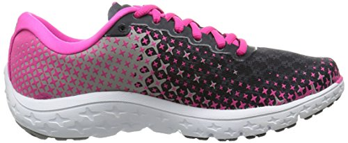 Brooks Pureflow 5, Chaussures de Running Compétition Femme, Peacoatnavy/Nightlife/Lapis Rose (Anthracite/Pinkglow/Alloy 073)