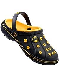 Batman Boy's Black And Yellow Clogs And Mules - 9 Kids UK/India (27 EU)