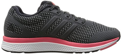 adidas Damen Mana Bounce W Laufschuhe, Grau Schwarz / Grau / Pink (Negbas / Grivis / Rubsup)