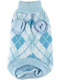 9a6f9c67530f Ligero Pet Warm Sweater Ropa Universal para Perros Moda Suave Dog Clothing  Cuello alto Cómodo Pet