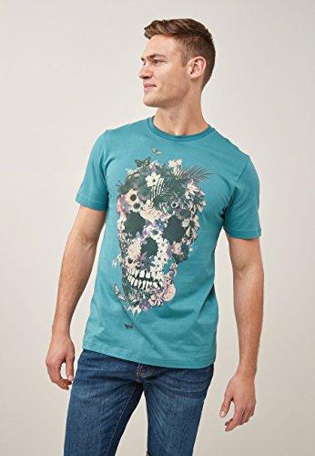 next Hombre Camiseta con Gráfico De Calavera Y Estampado De...