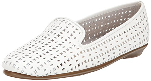 Aerosoles You Betcha Large Cuir Mocassin white