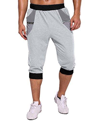 MODCHOK Herren Shorts Kurze Hose JoggingHose Sport Shorts Freizeit ...