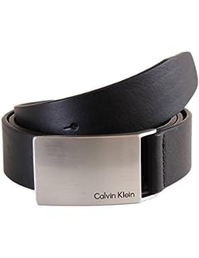 Calvin Klein Jeans - Mino Plaque belt, Cintura Uomo