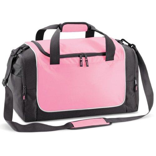 Quadra Teamwear Locker Bag Black/Yellow