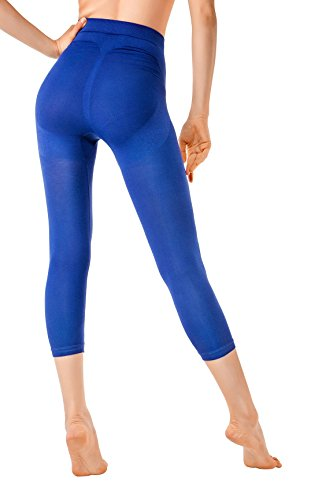 MD Sport Leggings Shapewear Kleid Body Shaper Mieder Figurformer Miederhöschen Small Blau