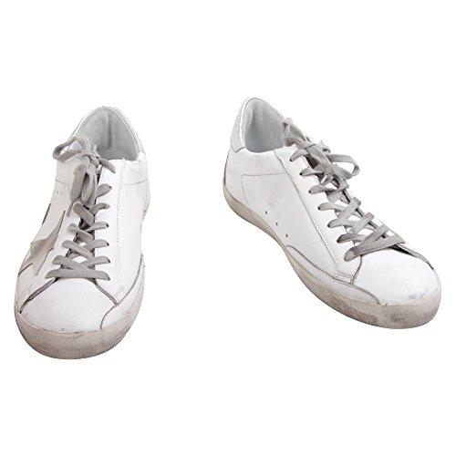 Golden Goose, Chaussures basses pour Homme Argent