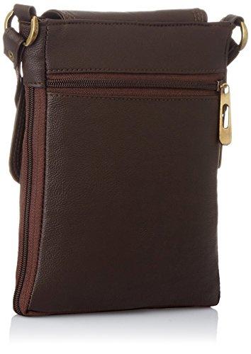 Alessia74 Women's Sling Bags (Brown) (PBG249G)