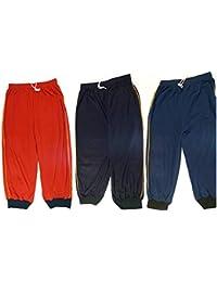 Drp Shoppings Set Of 3 (Multi Color)-Men's Cotton 3/4th Shorts-XL Size