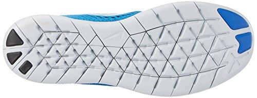 Nike Herren Free RN Laufschuhe Blau (Soar/Pr Pltnm-Bl Glw-Tm Ryl)