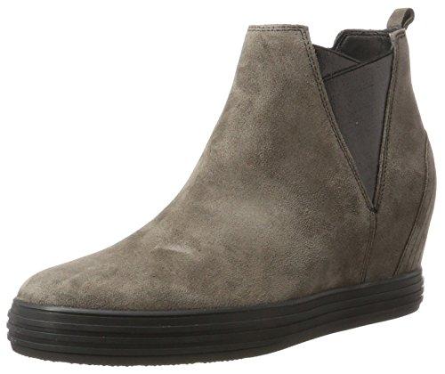 Gabor Shoes Damen Comfort Sport Stiefel, Grau (30 anthrazit (Micro), 38 EU