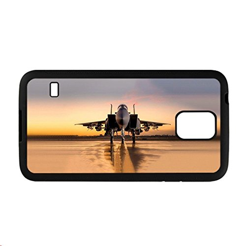 Plastics Phone Case High Quality For Samsung Galaxy S5 For Kid Have With War Plane
