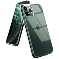 Ringke Fusion Designed for iPhone 11 Pro Max Case Cover, Clear Back Shockproof TPU Bumper Phone Case for iPhone 11 Pro Max 6.5-inch (2019) - Transparent