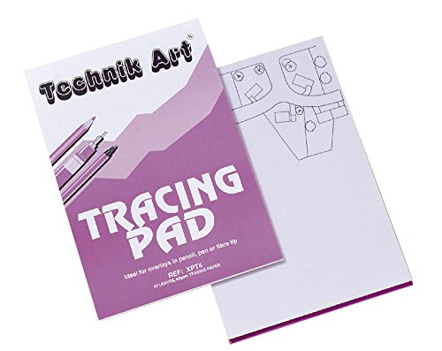 Technik A4 Art Tracing Pad 63 gsm, 40 Sheets, Ref XPT4Z Test