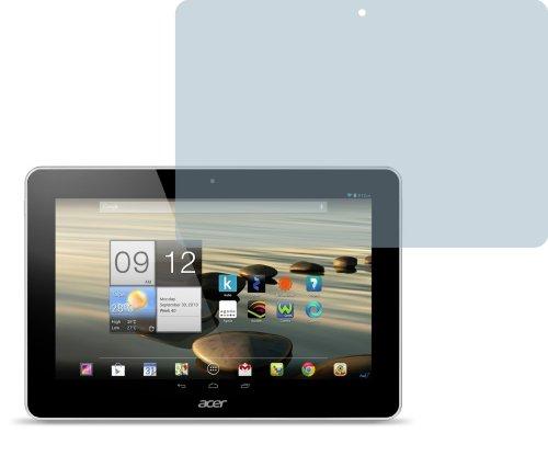 2x Acer Iconia Tab A3-A10 ENTSPIEGELNDE Displayschutzfolie Bildschirmschutzfolie - Nahezu blendfreie Antireflexfolie