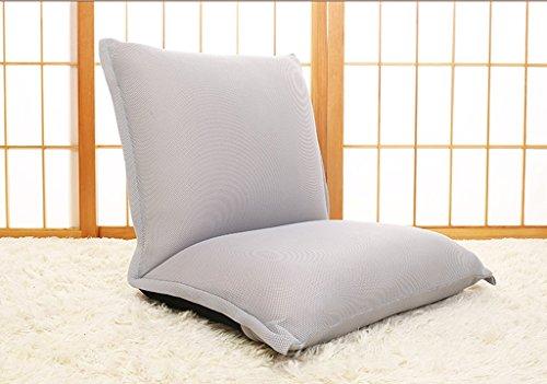HCJLR FJXLZ® Beanbag, Individual Chaise Pliante Lit Armchair Chambre à Coucher Balcon Bay Window Chair Pliable, Amovible Sacs de Haricot Paresseux Faut (Couleur : #3)