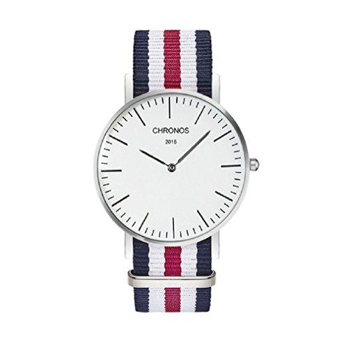 Geneva Oxford Armbanduhr | schwarz Freitag Verkauf | NATO Strap | Daniel Wellington, Casio | Herren Damen Unisex