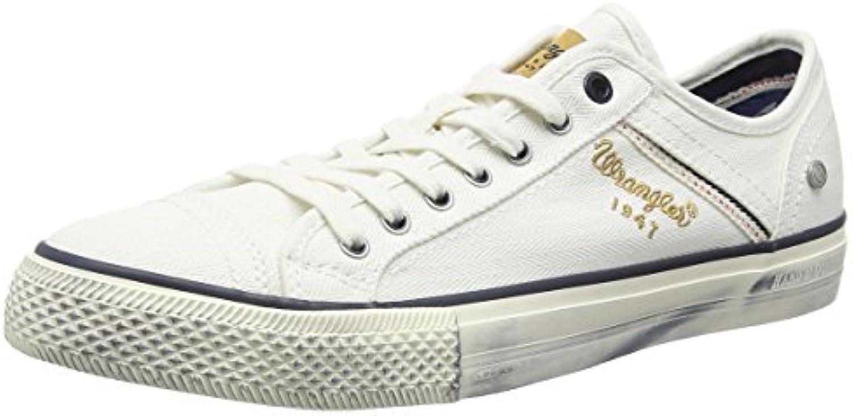 Wrangler Starry Low Canvas, scarpe da da da ginnastica Basse Uomo | Imballaggio elegante e robusto  | Maschio/Ragazze Scarpa  7f2023
