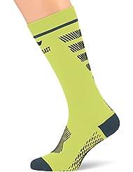 Sportlast Pro Kompressionsstrümpfe, gelb/blau, S