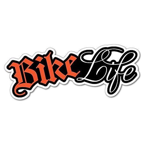 Bike Life Sticker Decal Bicycle Helmet Car Vinyl