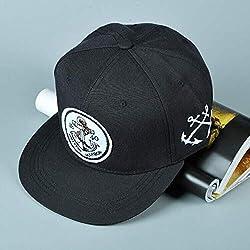 QOHNK Anchor Patch Bone Snapback 1840 New Yorker Hafen Hiphop Baseballmütze Fashion Casquette Einstellbarer Hut Gorras Für Frauen Männer