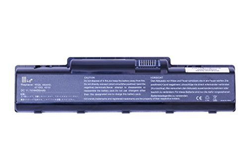 4d laptop battery for Acer Aspire 5740-5749 LAPCARE 6 Cell Laptop Battery for Acer Aspire 4710, 4736, 5738, 4720, 4710z, 4720z, 2930, 4310, 4315, 4520, 4530, 4720g, 4730 , 4730z, 4920, 4920G, 4935, 5332, 5516, 5535 5536 5735z