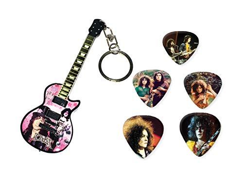 We Love Guitars T Rex Marc Bolan Wooden Mini-Gitarren-Keyring gebraucht kaufen  Wird an jeden Ort in Deutschland
