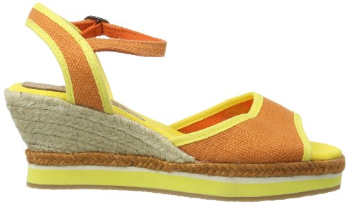 Kickers Oelia, Mules femme Orange - Orange (ORANGE YELLOW 173)
