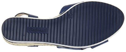 Donne navy Sandali Aggiornamento Di Blu Open Toe 64090 q18TCn