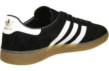 adidas Herren München Sneaker schwarz weiß gold
