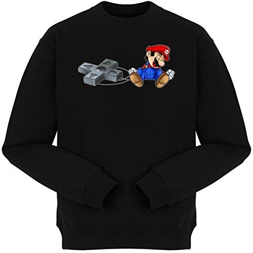 Sudadera Videojuego - Parodia de New Super Mario Bros (782)